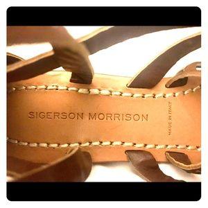 Sigerson Morrison sandals 👡